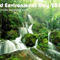 Sambutan Hari Alam Sekitar Sedunia World Environment Day