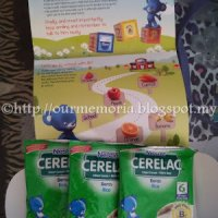 Sampel Percuma Nestle Cerelac
