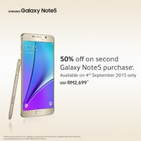 Samsung Malaysia Announced The New Galaxy Note 5