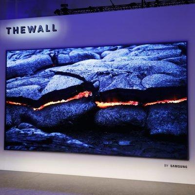 Samsung Perkenalkan The Wall Tv Mikroled Dengan Saiz 146 Inci