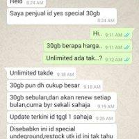 Scammer Ahmad Syahmi Jual Yes Id