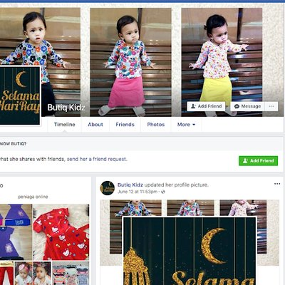 Scammer Facebook 2018 Sabutiq Kidz