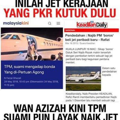 Sebelum Ni Rosmah Membazir Guna Pesawat Kerajaan Sekarang Satu Keluarga Anwar Guna Pesawat Kerajaan