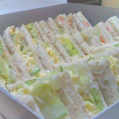 Sedapnya Sandwich Tuna Dan Telur