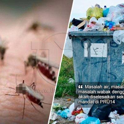 Selangor Takkan Digelar Darul Sampah Atau Darul Denggi Jika Bn Diberi Mandat Di Pru14 Najib