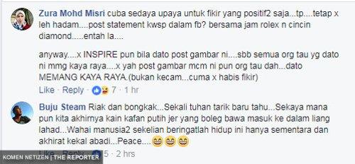Semua Benda Nak Tunjuk Patutlah Hidup Tak Tenteram Netizen Kecam Dato Aliff Syukri