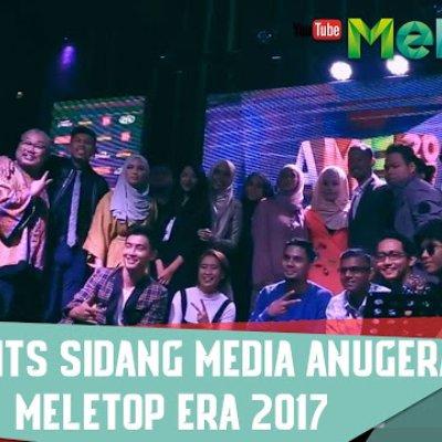 Senarai Pencalonan Top 5 Anugerah Meletop Era 2017