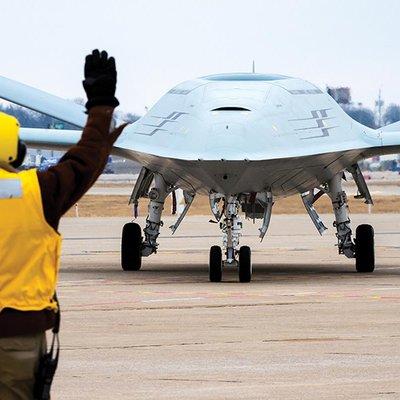 Senjata Rahsia Rekaan Dron Boeing Mq 25 Stingray Us Diperlihatkan