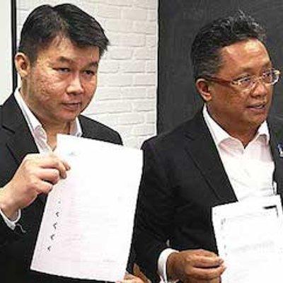 Sidang Media Bnsc Mengenai Isu Tanah Ijok Selangor