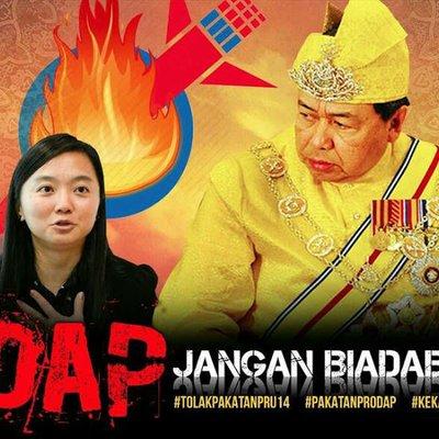Speaker Dap Tidak Hormat Sultan