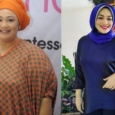 Sukses Turunkan Berat Badan Dari 150 Kg Menjadi 70 Kg Inilah Tips Diet Kenyang Ala Dewi Hughes