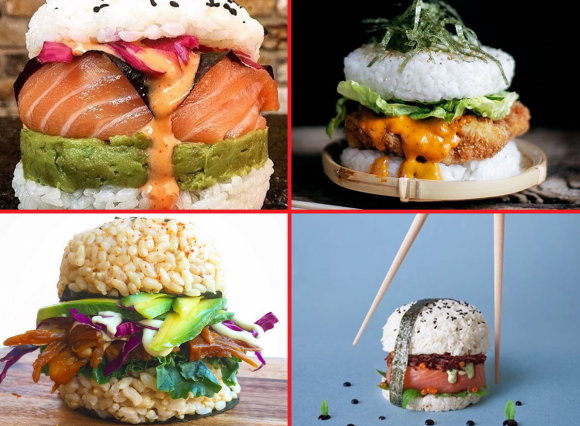 Sushi Burgers The Latest Diy Food Craze That You Should