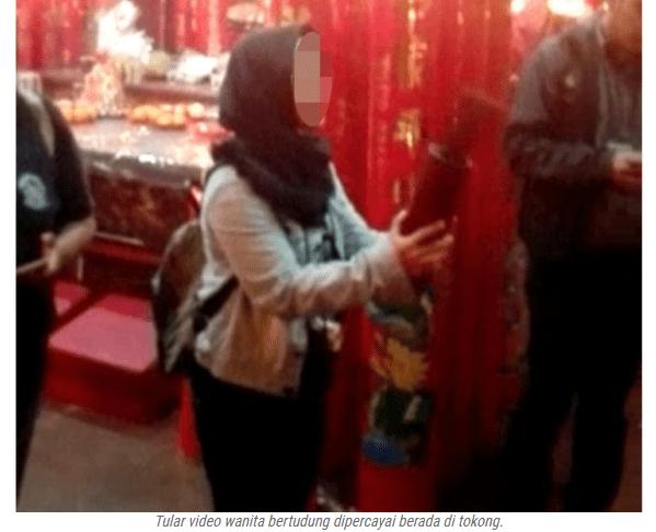 Susulan Video Tular Haram Umat Islam Menyerupai Agama Lain