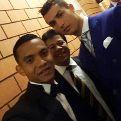 Swafoto Bersama Ronaldo Impian Faiz Subri Tercapai