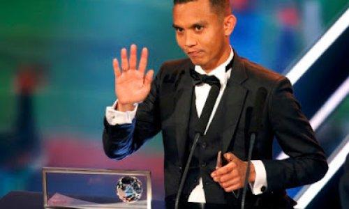 Tahniah Faiz Subri Menang Anugerah Puskas Fifa 2016