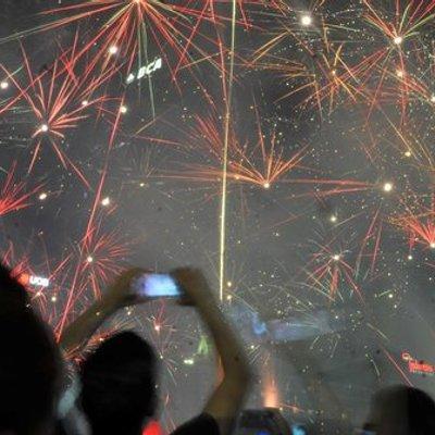 Tahun Baru 2018 Pedagang Kembang Api Mampu Raup Jutaan Rupiah