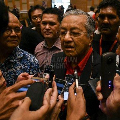 Tak Semua Akan Sokong Saya Jadi Pm Kata Dr Mahathir