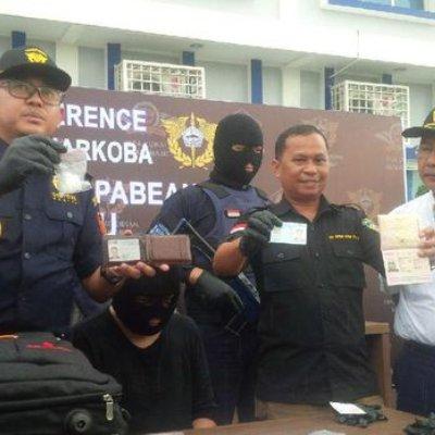 Tak Serik Benjy Dicekup Pihak Berkuasa Indonesia Sembunyi Dadah Dalam Dubur