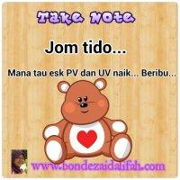 Take Note Jom Tido