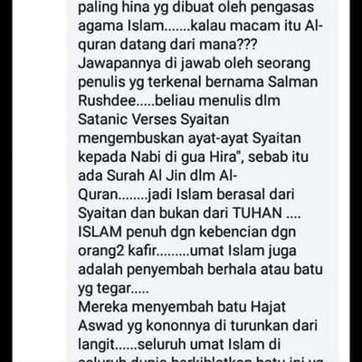 Takkan Malaysia Baru Sampai Macam Ini Sekali Mereka Boleh Pijak Islam 4 Gambar Penuh Dikongsikan Farid Maria