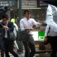 Taufan Wipha Melanda Jepun