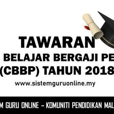 Tawaran Cuti Belajar Bergaji Penuh Tahun 2018