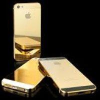 Telefon Bimbit Bersadur Emas