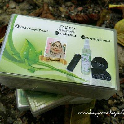 Tempahan 300 Pcs Business Card Agent Dyxy