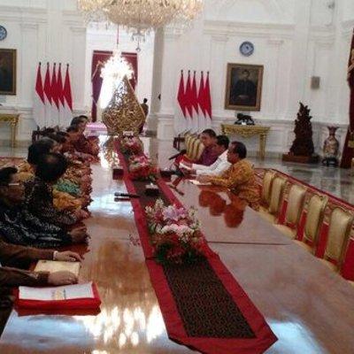 Temui Jokowi Pgpi Sampaikan Dukungan Kepada Pemerintah