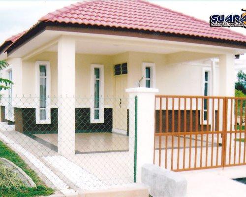 Rumah Bina Negara Risda Kelantan Toko Ped0