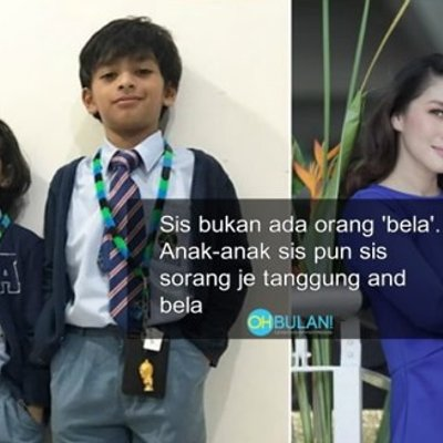 Tergamaknya Biarkan Mereka Membesar Tanpa Kasih Sayang Ayah Netizen Simpati Rita Rudaini Besarkan Anak Sendiri