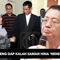 Terkini Bayar Rm500 000 Lim Guan Eng Dap Kalah Saman Nenek Rasis