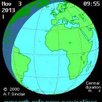 Terkini Gerhana Matahari Hibrid Gerhana Terunik Tahun Ini