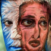 The Coolest And Amazing Body Paint Pictures