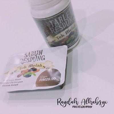 Tok Melah Sinusitis Tablet And Soap