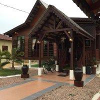 Traditional Carved Wood Terengganu Home