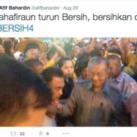 Tun M Disiasat Polis Bersih4