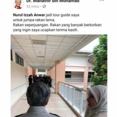 Tun Mahathir Bakal Perdana Menteri Dihalang Najib Dan Zahid Boleh Pula Lawat Anwar