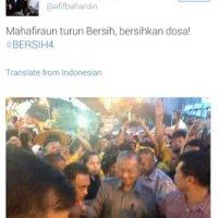 Tun Mahathir Dikutuk Bersih4 Jadi Rasis Kecinaan
