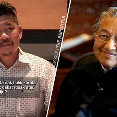 Tun Mahathir Ibarat Kereta Lama Dan Tidak Diperlukan Lagi Datuk Patrick Ooi