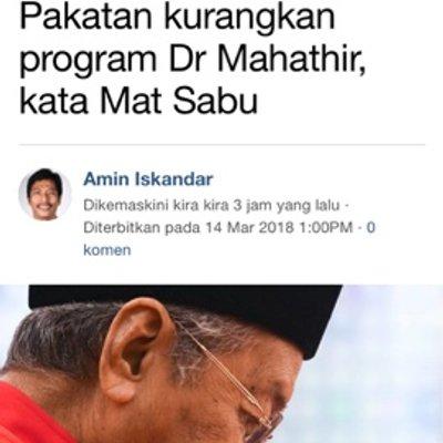 Tun Mahathir Pemangkin Tsunami Rakyat Tumpu Program Besar Besaran Saja