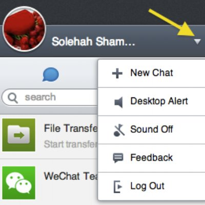 Tutorial Chatting Dengan Rakan Wechat Via Web Wechat