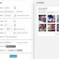 Tutorial Tambah Photo Gallery Widget Instagram Dalam Blog