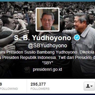 Tweet Perdana Dari Akun Sbyudhoyono