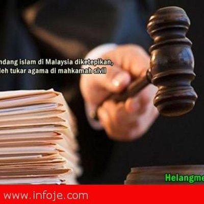 Umat Islam Yang Ingin Murtad Boleh Memohon Dibicarakan Di Mahkamah Sivil Kata V Anbalagan