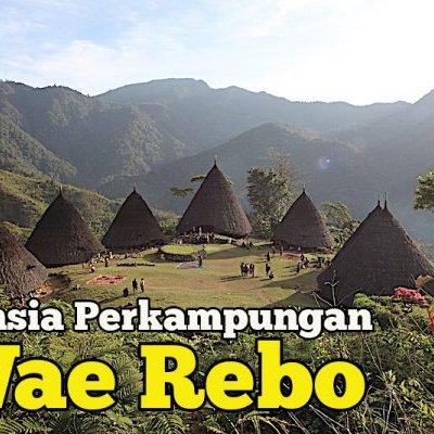 Umpama Alam Bunian Kampung Wae Rebo Manggarai Barat Flores
