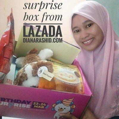 Unboxing Lazada Surprise Box