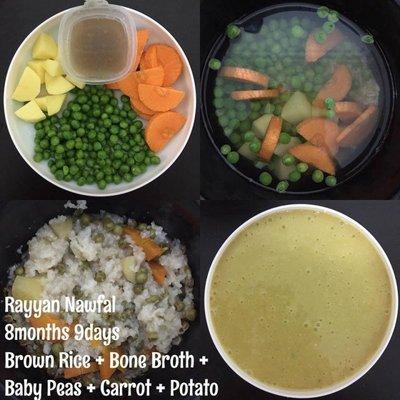 Untuk Ibu Yang Dah Kering Idea 4 Resipi Bubur Nasi Ini Sesuai Untuk Baby Anda
