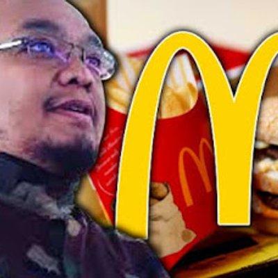 Ustaz Serang Mcdonald S Tak Gentar Ditangkap Enggan Tarik Balik Tuduhan Haram