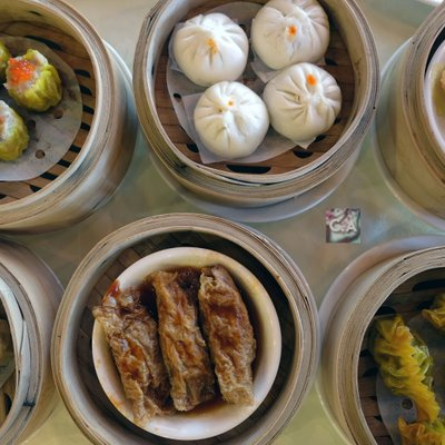 Variety Of Dim Sum At Kl Seafood Market